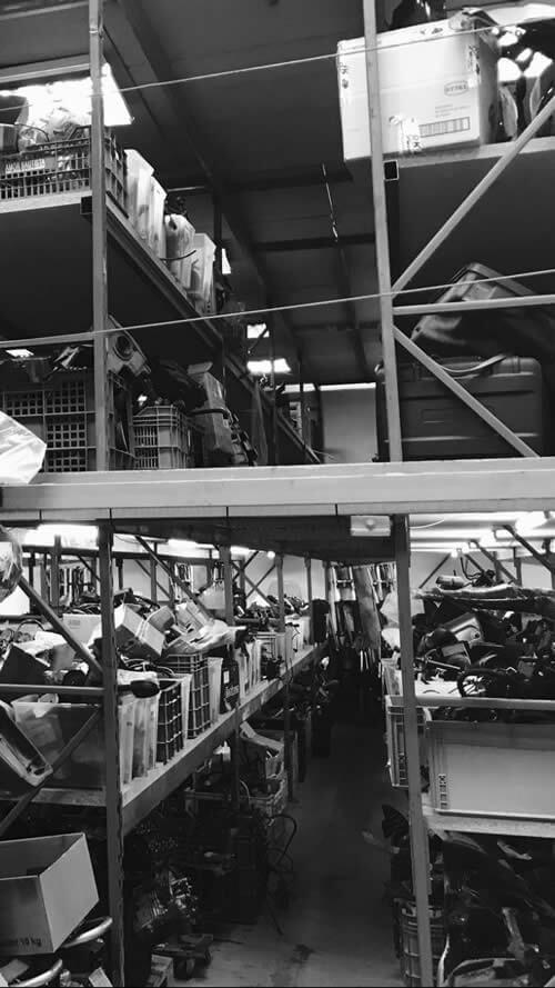 RK Motonet en Navalcarnero dispone de el mayor stock de recambios usados para moto BMW.